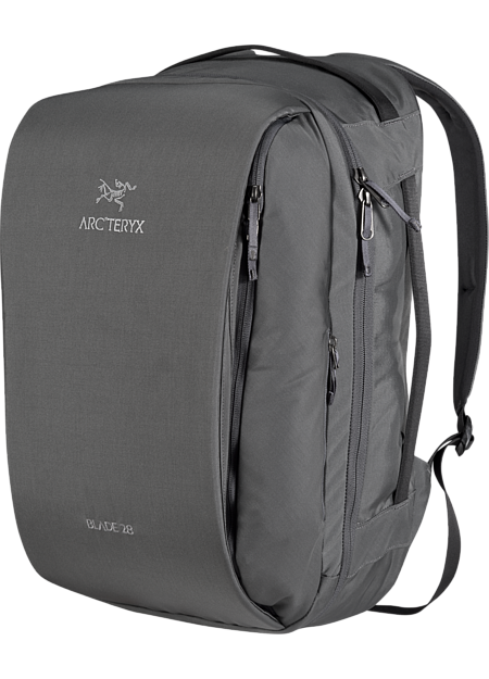 Streamlined overnight travel pack that carries and organizes laptops, digital tools, clothing and personal items.