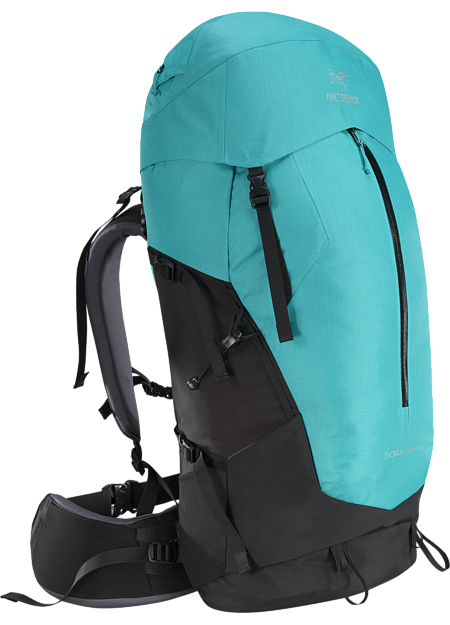 Women's backpack with zonal weather protection and RotoGlide™ hipbelt.