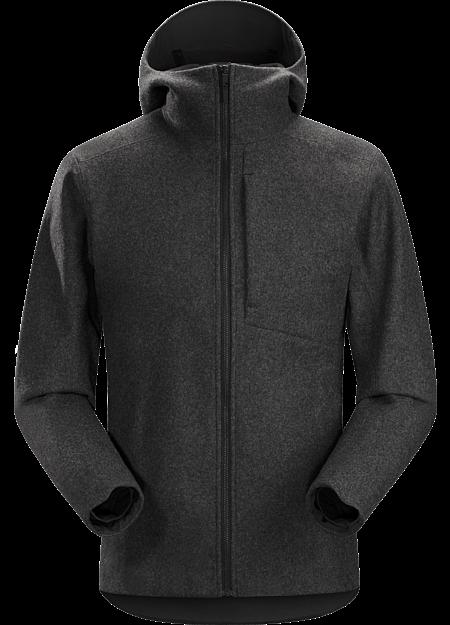 Cordova Jacket Men's Black Heather