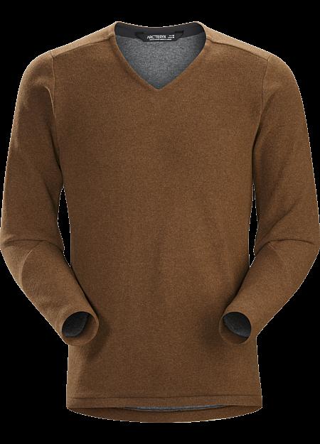 Donavan V-Neck Sweater Men's Elk Heather