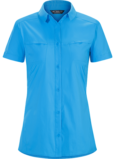 Comfortable, durable, air permeable nylon shirt for hiking and trekking.