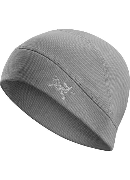 Polartec® Power Stretch beanie sheds snow and layers comfortably under hoods and helmets.