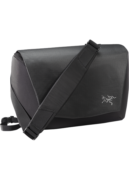 Fyx 9 Messenger Bag  Black