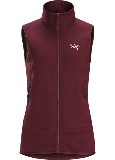 Kyanite Vest Women's Crimson