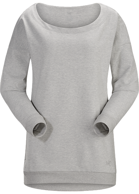 Mini-Bird Sweatshirt Women's Light Grey Heather