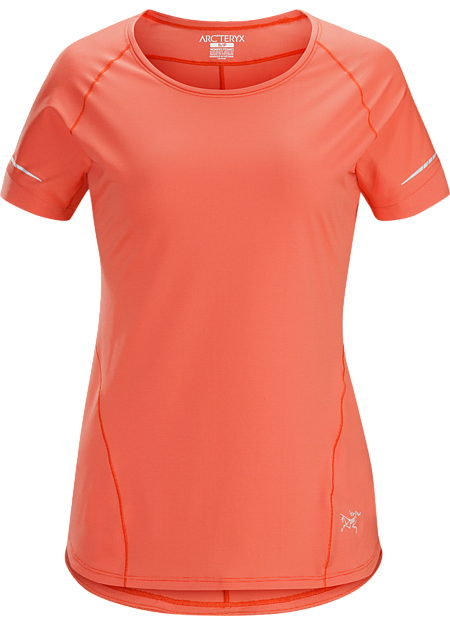 Technical trail running shirt delivering outstanding moisture management.