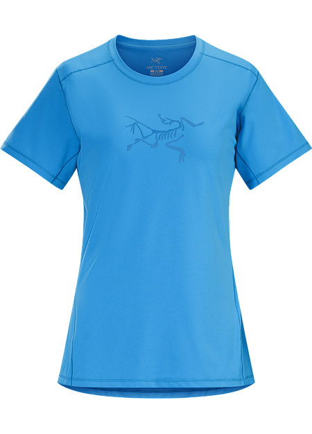 Lightweight, quick drying tech tee with excellent stretch and next-to-skin feel.