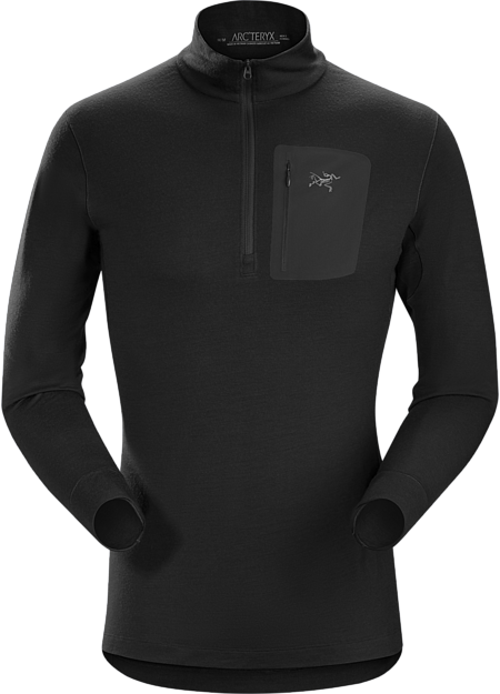 Satoro SV Zip Neck LS Men's Black