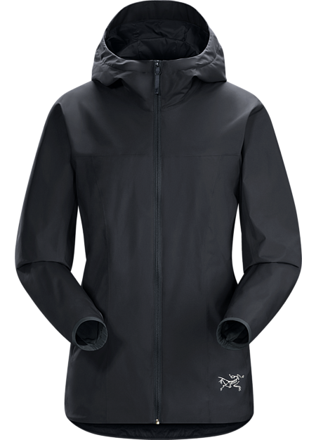 Windproof, water repellant GORE WINDSTOPPER® jacket with refined urban style.