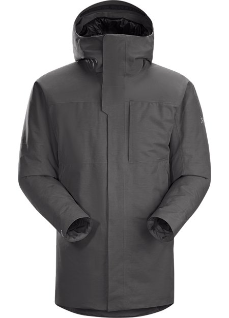 A masterpiece of urban style combining fully waterproof and windproof/breathable GORE-TEX fabric with premium goose down and synthetic insulations.
