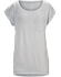 A2B Scoop Neck Shirt SS Women's Athena Grey