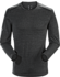 A2B Top LS Men's Black Heather