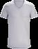 A2B V-Neck Shirt SS Men's Delos Grey