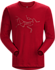 Archaeopteryx T-Shirt LS Men's Red Beach