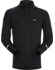 Cormac Zip Neck Shirt LS Men's Black