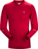Motus Crew Neck Shirt LS Men's Red Beach