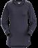 T-shirt Motus Col Rond ML Women's Black Sapphire