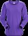 T-shirt Motus Col Rond ML Women's Mauveine