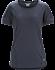 Motus Crew Neck Shirt SS Women's Black Sapphire