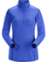 Phase AR Zip Neck LS Women's Iolite