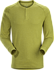 Sirrus Henley LS Men's Olive Amber Heather