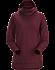 Vertices Première couche à capuche Women's Crimson