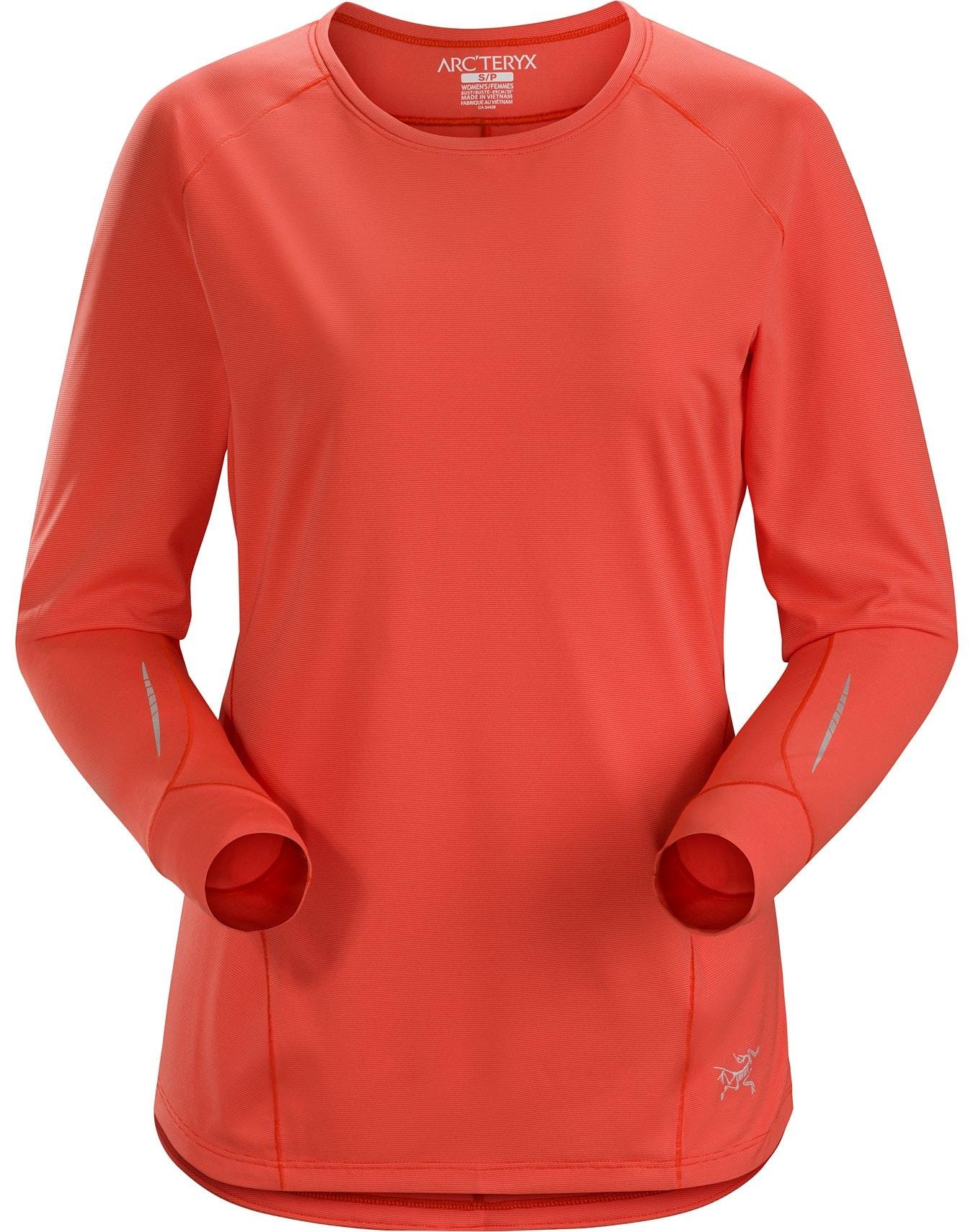 4872697a7 Motus Crew Neck Shirt LS / Womens | Arc'teryx