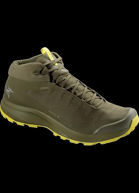 Aerios FL Mid GTX Shoe Men's Taan Forest/Lampyres