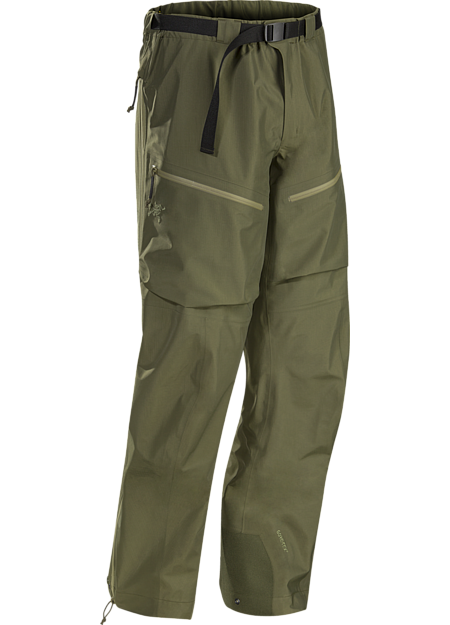 Durable waterproof/breathable shell pant for inclement conditions.