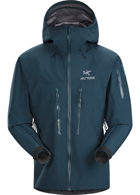 Hardwearing GORE-TEX Pro hardshell for extended use in severe alpine conditions. Alpha Series: Climbing and alpine focused systems | SV: Severe Weather.