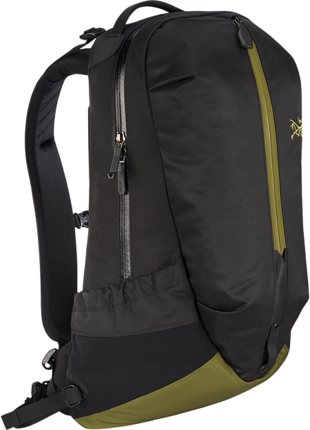 Urban commuter backpack with functional organization.