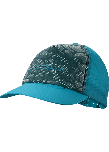 Climb Trucker Hat  Dark Firoza/Labyrinth