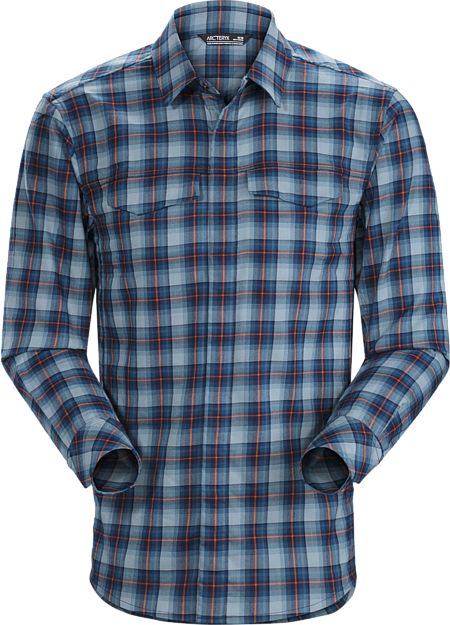Soft, brushed flannel long sleeve plaid shirt with casual styling and three season warmth.