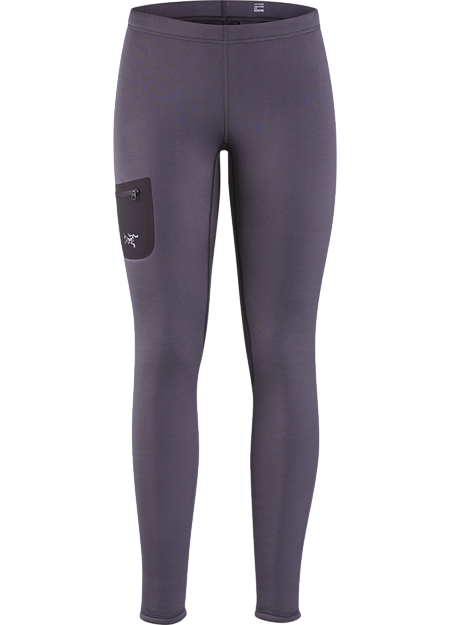 Versatile, midweight, insulated tight that can be worn as an insulated base layer, or as a stand-alone outer layer during cool-weather workouts