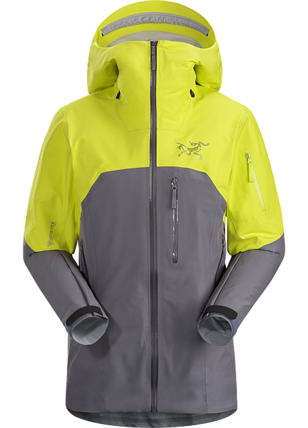Light and packable GORE-TEX Pro jacket for backcountry ski and snowboard tours.