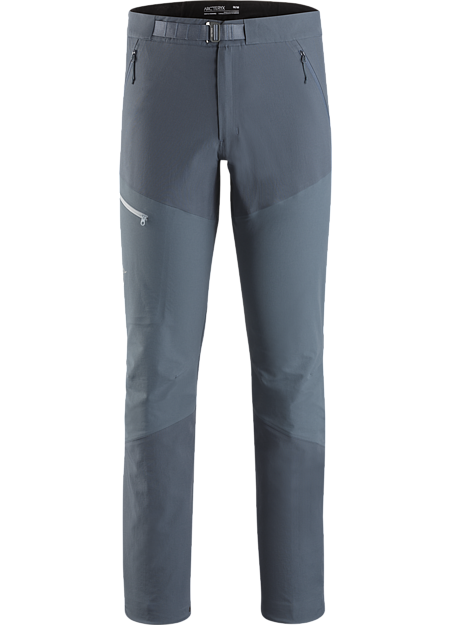 Durable hybrid softshell pant for fast and light rock, alpine and ice climbing.
