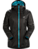 Norvan SL Insulated Hoody Women's Black/Dark Firoza