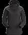Rho LT Hooded Zip Neck Women's Black