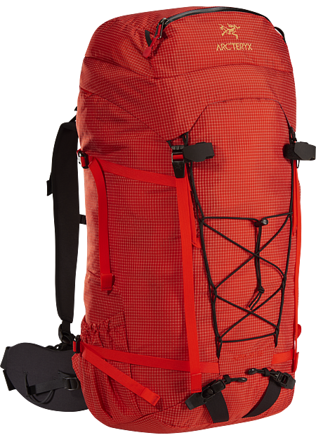 Durable and versatile all-round pack for ice climbing and multi-day alpine climbs. Alpha Series: Climbing and alpine focused systems | AR: All-Round.