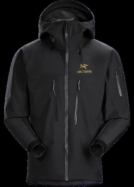 アルファ SV ジャケット Men's 24K Black