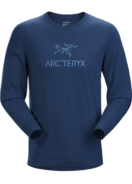 Long sleeve shirt made with organically grown cotton and featuring the Arc'teryx logo front and centre.