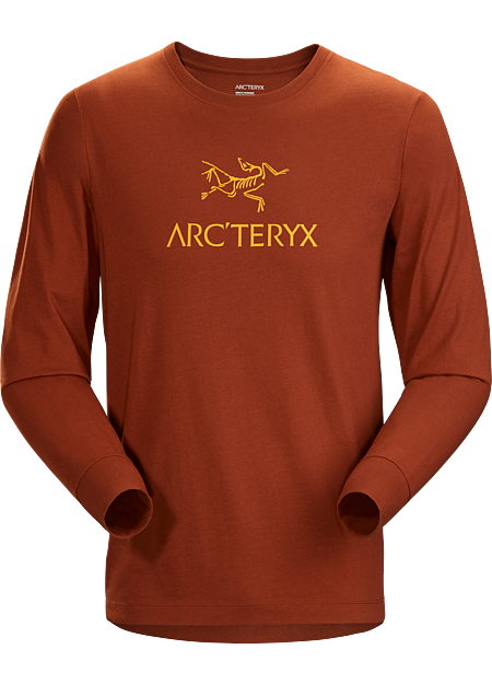 Arc'Word T-Shirt LS Men's Sequoia