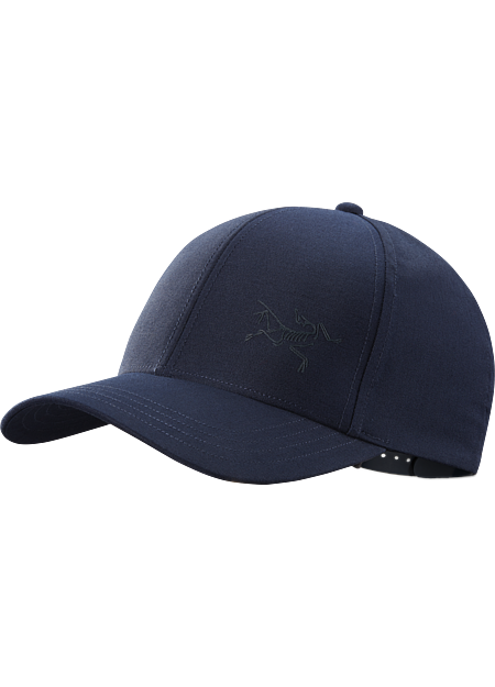 Classic snap-back ball cap with the Arc'teryx bird up front.