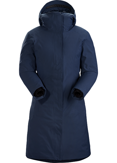 The warmest Arc'teryx waterproof down parka designed for urban wear.