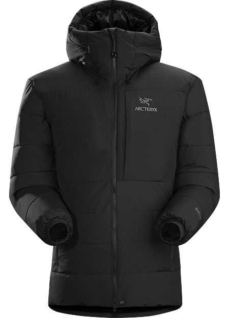 Exceptionally warm down parka with a GORE WINDSTOPPER® shell.