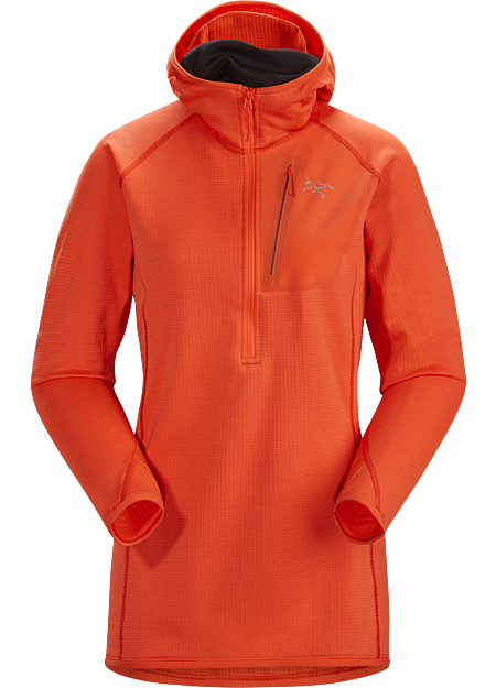 Versatile Polartec® Power Dry® pullover for a range of activities. Delta Series: Midlayer fleece | MX: Mixed Weather.
