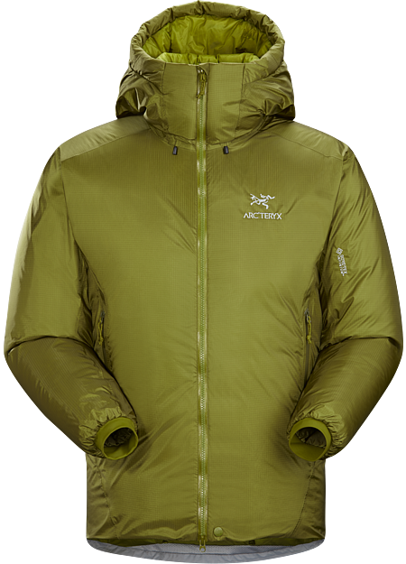 Technically advanced down parka with a water-resistant GORE-TEX INFINIUM™ shell. Down Series: Down insulated garments | AR: All Round.