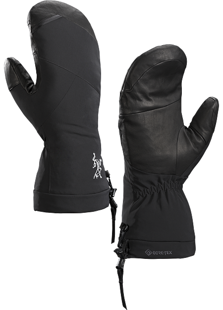Fission SV Mitten  Black/Infrared