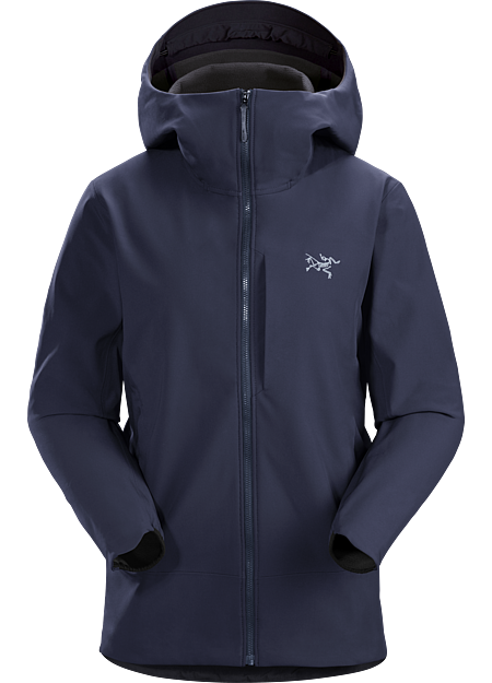 Warm, weather resistant, exceptionally durable softshell hoody. Gamma Series: Softshell outerwear with stretch. | MX: Mixed Weather.