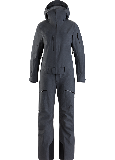 Women's ski and snowboard one piece shell delivering comprehensive GORE-TEX protection.